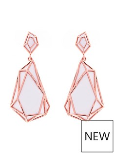 karen-millen-karen-millen-colour-shard-statement-drop-rose-gold-white-earrings