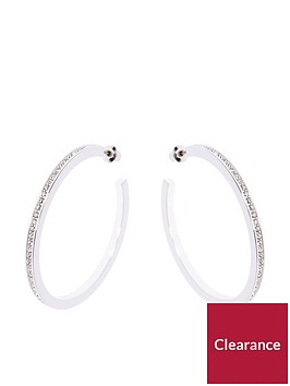 karen-millen-large-hoop-earrings-silver