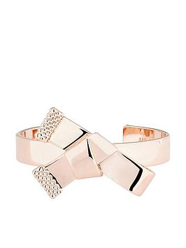 ted-baker-knot-bow-cuff-bracelet-rose