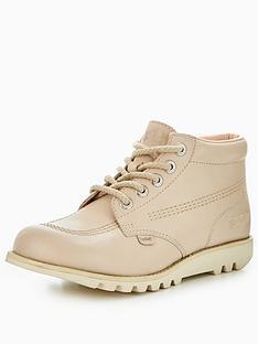 kickers-kick-hi-leather-ankle-boot-cream