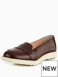kickers-kick-c-lite-strap-leather-loafer-burgundy