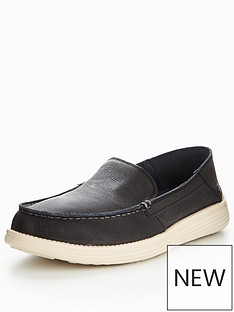 skechers-status-breson-leather-slip-on