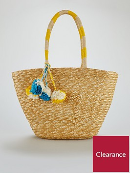 v-by-very-pom-pom-beach-bag-natural