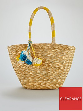 v-by-very-pom-pom-beach-bag-natural