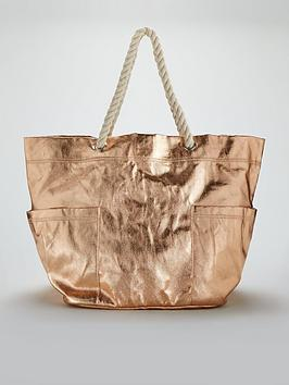 v-by-very-oversized-metallic-beach-bag-rose-gold