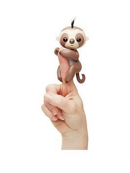 fingerlings-wowwee-sloth-brown