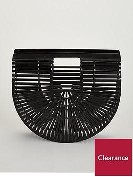 v-by-very-bamboo-half-moon-bag-black