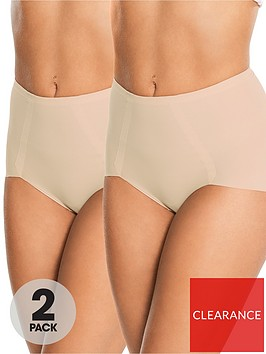 maidenform-2-pack-sleek-smoothers-brief