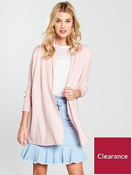 v-by-very-shawl-collar-rib-cardigan-blush-pink
