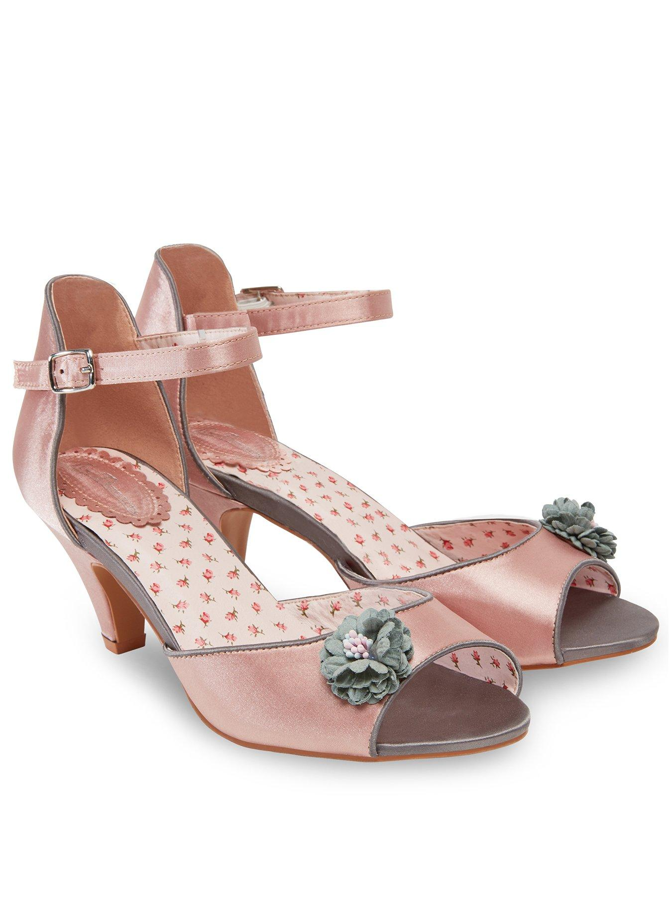 Womens Perfectly Pretty Shoes Ankle Strap Heels Joe Browns l4qLsRPa