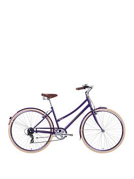 Image of Raleigh Caprice Ladies Heritage Bike 17 inch Frame, Purple, Women