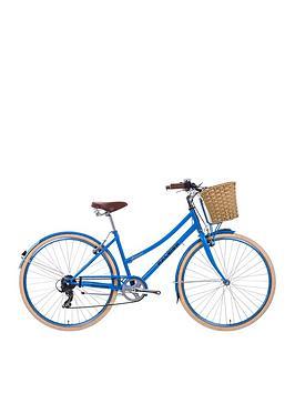 Image of Raleigh Sherwood Ladies Heritage Bike 17 inch Frame, Blue, Women