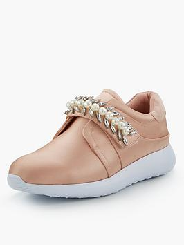 Miss Kg Lexie Chain Trainer - Nude