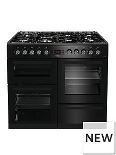 beko-kdvf100k-100cmnbspwide-dual-fuel-range-cooker-black