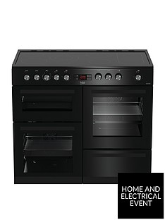 beko-kdvc100k-100cmnbspwide-electric-range-cooker-black