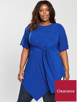 v-by-very-curve-knot-asymmetric-top-cobalt-blue
