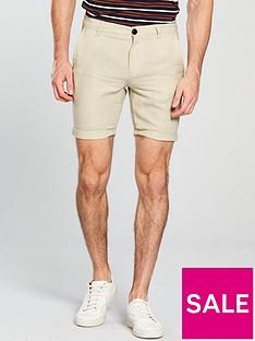 selected-homme-paris-sand-linen-shorts