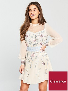 v-by-very-petite-embellished-skater-dress-ivorynbsp
