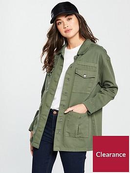 v-by-very-patch-pocket-utility-jacket-khaki