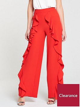 v-by-very-frill-trouser-red