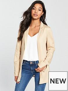 v-by-very-tencel-tie-back-soft-jacket-stone