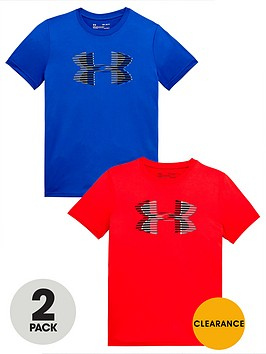 under-armour-boys-2-pack-big-logo-tees
