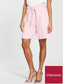 v-by-very-linen-short-blush