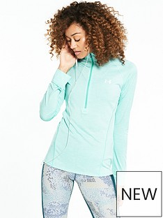 under-armour-techtrade-12-zip-top-aquanbsp