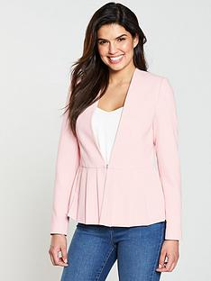 v-by-very-pleated-jacket-pink