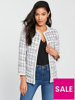 v-by-very-boucle-pearl-trim-jacket-bluewhite