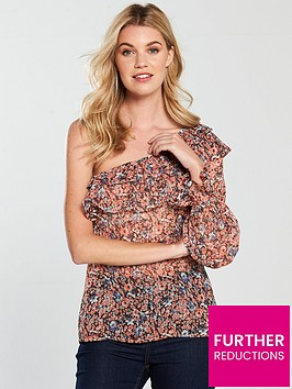 v-by-very-one-shoulder-ruffle-top-print