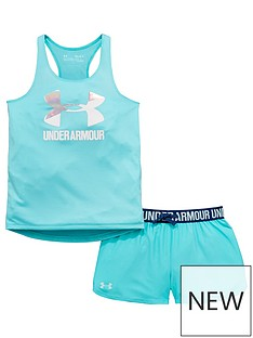 under-armour-girs-vest-and-shorts-set