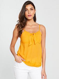 v-by-very-bow-tie-caminbsp--bright-orange