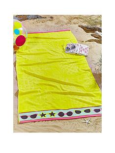 catherine-lansfield-pineapple-beach-towel