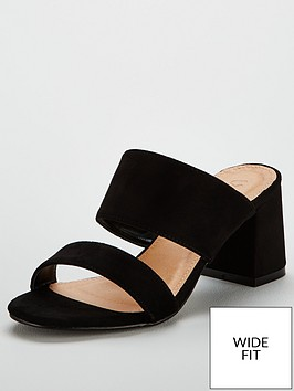v-by-very-london-wide-fit-2-strap-mule-black