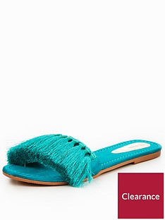 v-by-very-miami-tassel-slider-turquoise