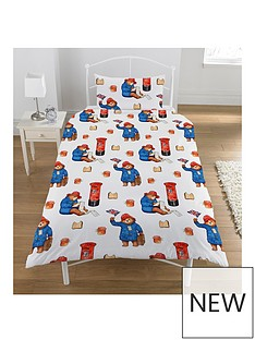 paddington-bear-single-christmas-duvet-cover-set