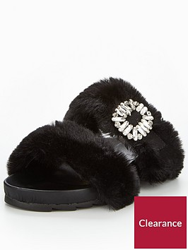 v-by-very-maisy-embellished-fluffy-slider-black