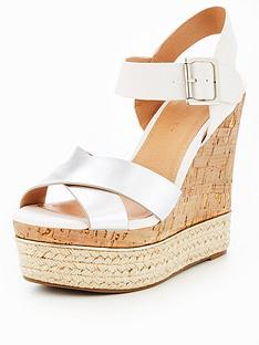 v-by-very-tropez-cross-strap-wedge-sandal-whitesilver