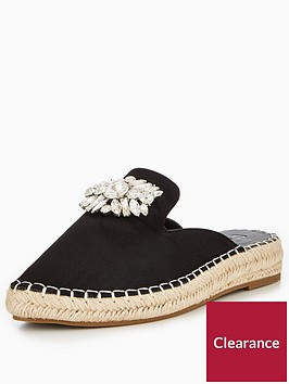 v-by-very-cannes-embellished-mule-espadrille-black