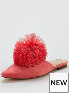 v-by-very-florence-pom-pom-flat-mule