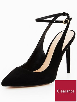 v-by-very-rome-open-back-point-court-shoe-black