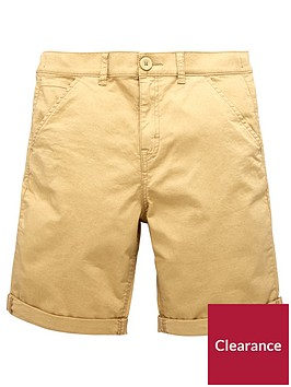 v-by-very-smart-roll-up-chino-shorts-tan