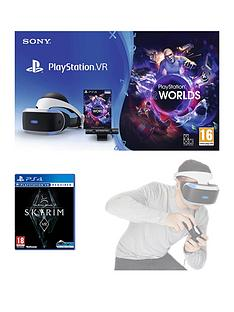 playstation-vr-vr-headset-with-playstation-camera-vr-worlds-and-the-elder-scrolls-v-skyrim-with-optional-extra