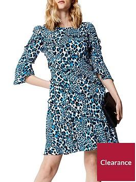 karen-millen-karen-millen-leopard-print-dress-with-frills