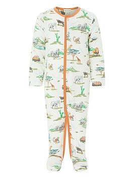 monsoon-newborn-albi-jungle-sleepsuit