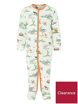 monsoon-newborn-albi-jungle-sleepsuit