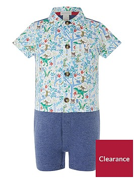 monsoon-newborn-jacob-dino-shirt-romper