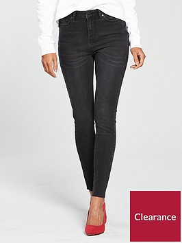 v-by-very-ella-high-rise-skinny-jean-washed-black