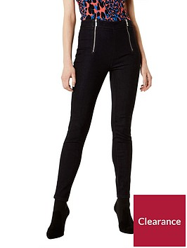 karen-millen-skinny-jeans-with-zipsnbsp